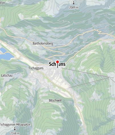 Karte / Posthotel Taube
