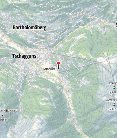 Karte / Haus Tschugmell