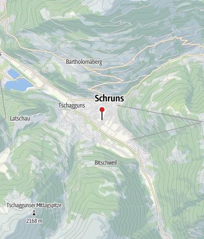 Karte / Ferienhaus Scharl