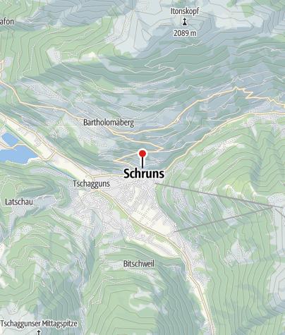 Karte / Hotel Alpenhof Messmer