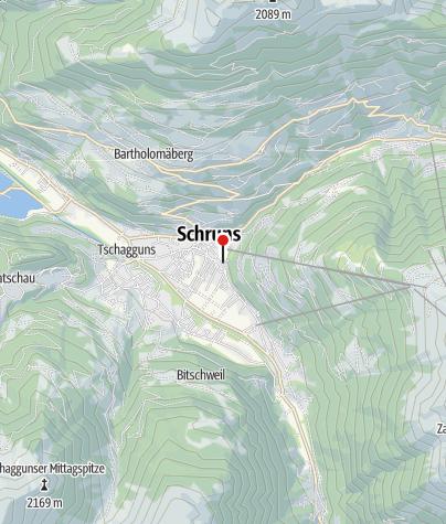Karte / Ferienhaus Bitschnäulis