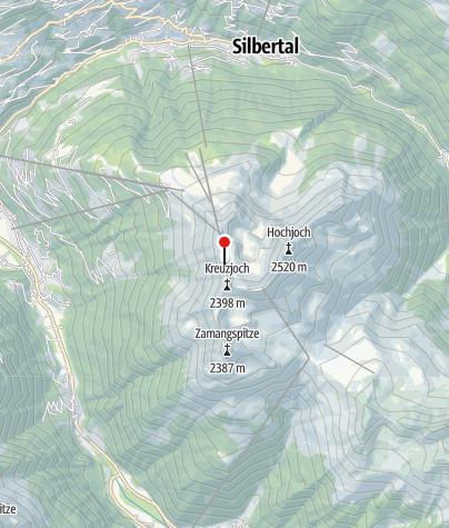 Karte / Wormser Hütte