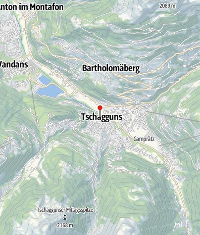 Karte / Sporthotel Sonne