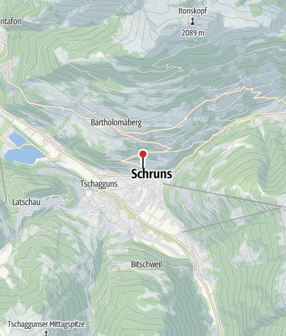 Karte / Ferienchalet Schneider