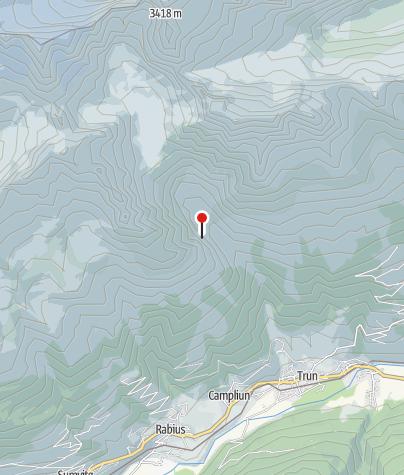 Karte / Bergwerk Val Punteglias