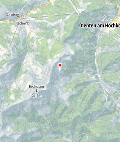 Map / Reicheralm 1.580 m