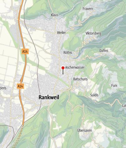 Karte / Sulz, Pfarrkirche Heiliger Georg