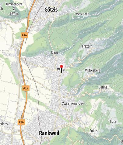 Karte / Weiler, Pfarrkirche zum Heiligsten Herzen Jesu