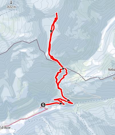 Karte / Schrammacher (3410 m) vom Pfitscher Tal
