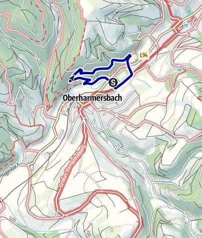 "Map / Naturerlebnispfad Oberharmersbach ""Hademar Waldwichtel"""
