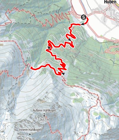 Map / Polltalalm - Längenfeld