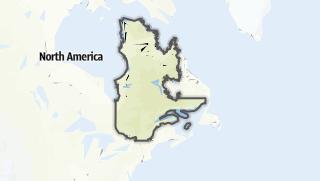 Mapa / Québec