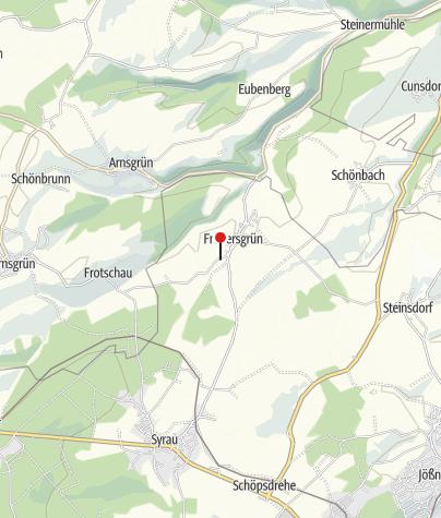 """Karte / Landgasthof """"Zum Kühlen Morgen"""""""