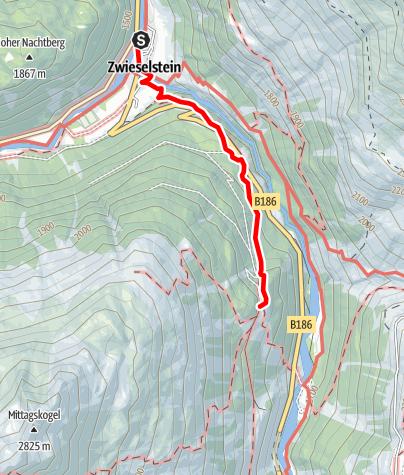 Map / Lenzenalm