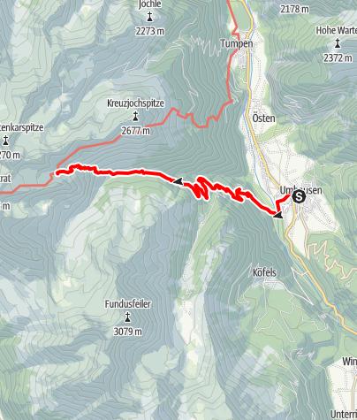 Map / Erlanger Hütte