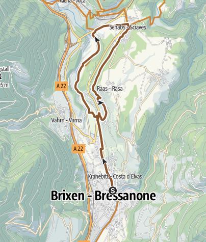 Karte / Über das Kloster Neustift nach Schabs