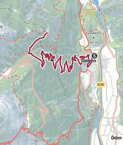 Map / Armelenhut