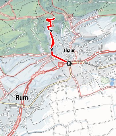 Karte / Romedius-Kirchlein