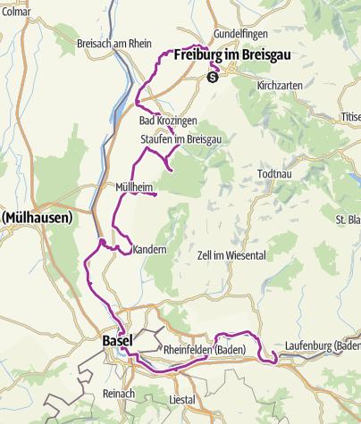 Map / Thermen des Südens
