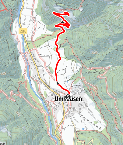 Map / Farst - Eagle's Nest of the Ötztal - Umhausen-Niederthai
