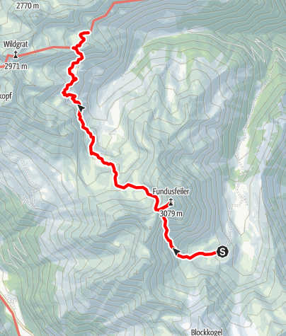 Map / Ötztal Trek Stage 21