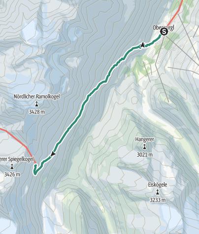 Map / Obergurgl - Ramolhaus