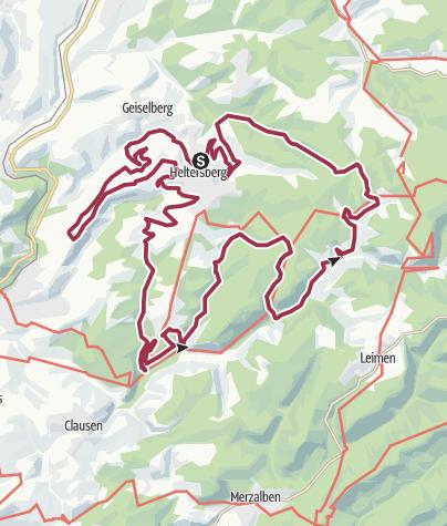 Karte / Brunnenwanderweg Heltersberg