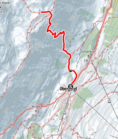 Karte / Seenplatte