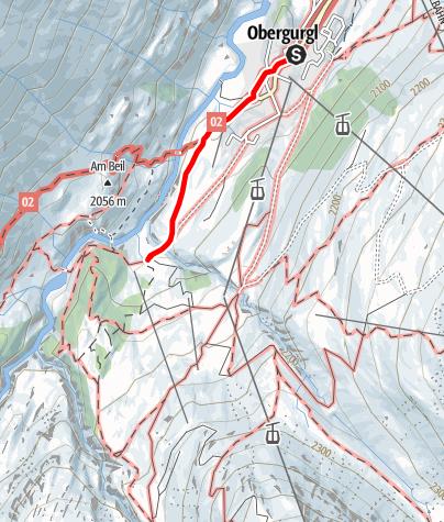 Karte / Zirben Alm