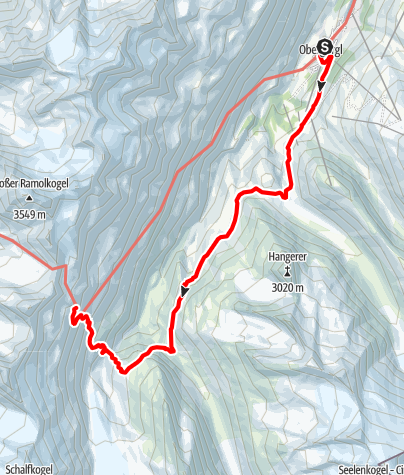 Map / Ötztal Trek Stage 10