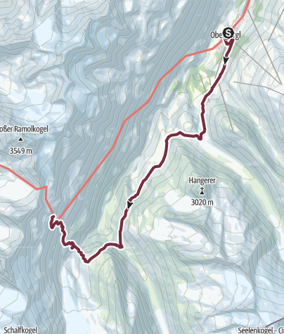Map / Ötztal Trek Stage 10
