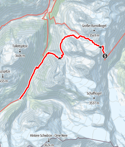 Map / Ötztal Trek Stage 11