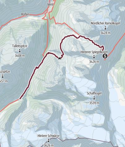 Map / Ötztal Trek Stage 11