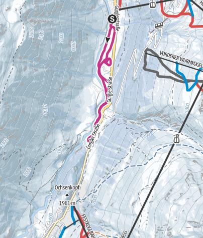 Map / Winterhiking Obergurgl