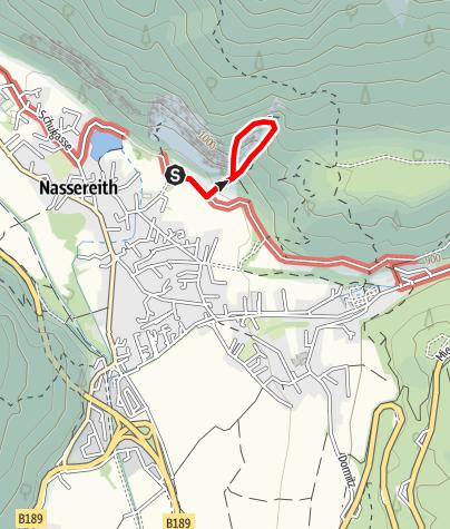 Karte / Leite-Klettersteig