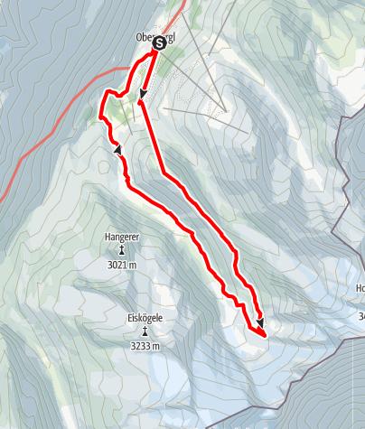 Karte / Wasserläufer Rotmoostal