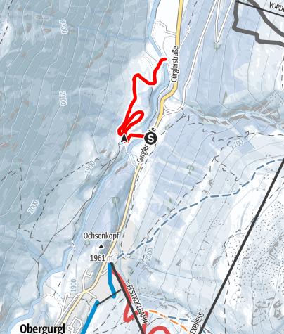 Karte / Höhenloipe Pill-Angern-Poschach