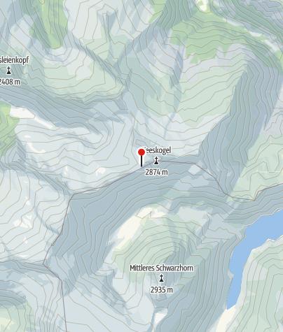 Karte / Ali-Lanti-Biwak
