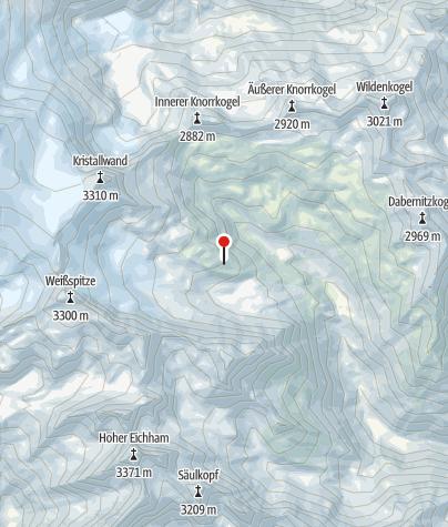 Karte / Badener Hütte