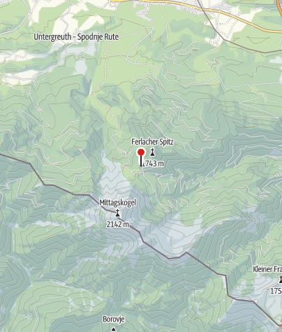 Karte / Bertahütte