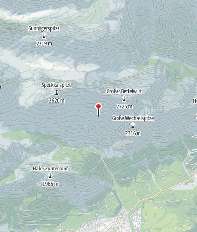 Map / Bettelwurfhütte