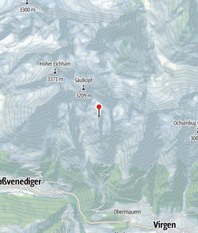 Karte / Bonn-Matreier-Hütte