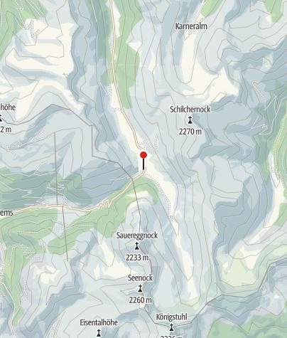Karte / Dr.Josef-Mehrl-Hütte