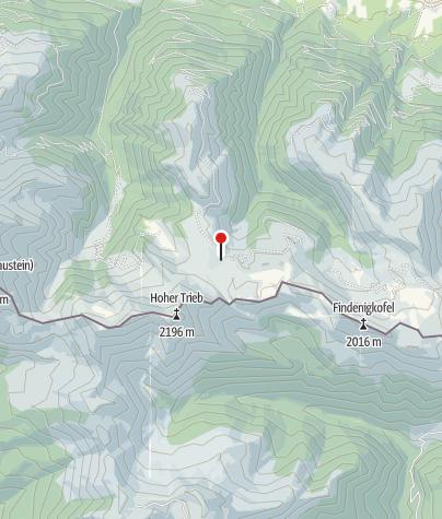 Karte / Zollnersee Hütte