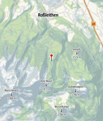 Karte / Dümlerhütte