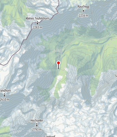Karte / Eckberthütte