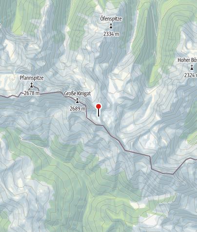Karte / Filmoor-Standschützenhütte