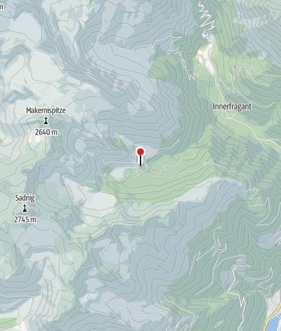 Karte / Fraganter Schutzhaus