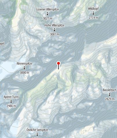 Karte / Franz-Senn-Hütte