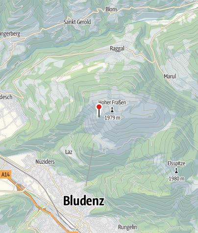 Karte / Frassenhütte